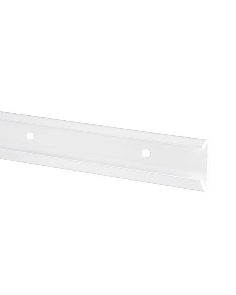 2er Pckg. Tragleistenabdeckung L581 mm platinum