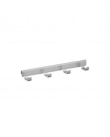 4er Haken-Tragarmaufsatz L316 mm platinum