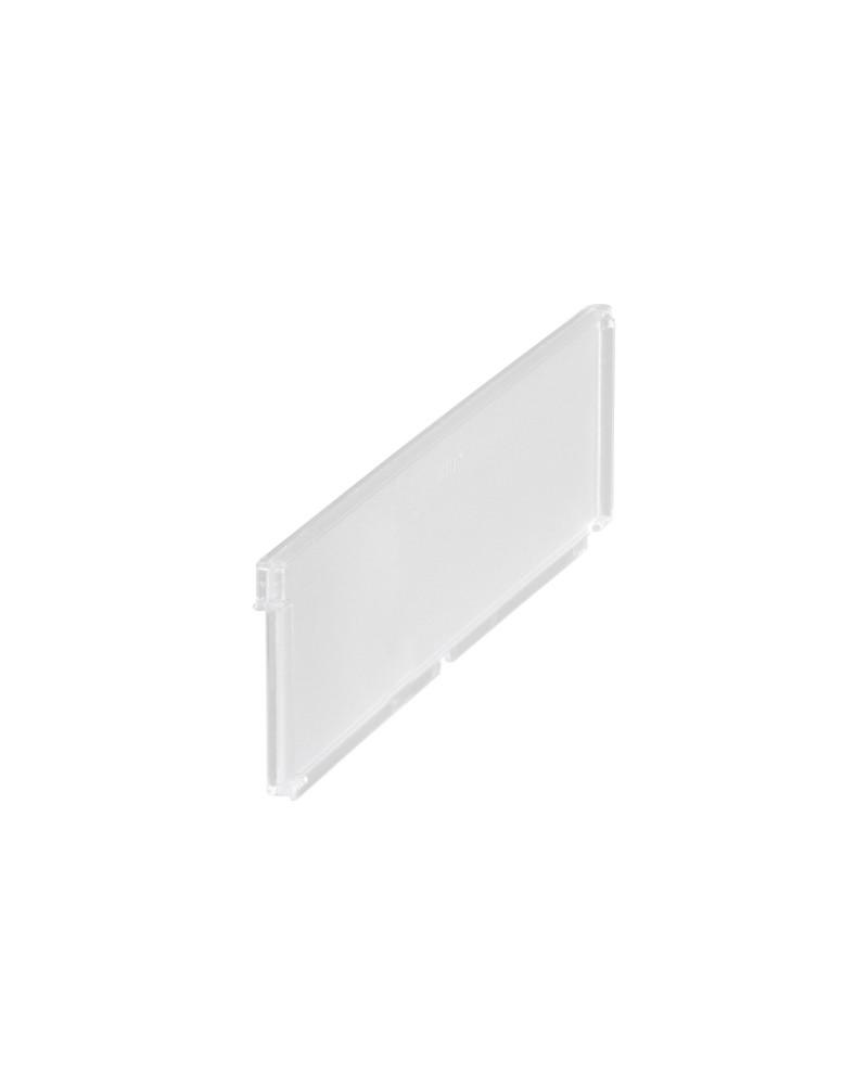 2er Pckg. Abteiler f. Korbböden L334 mm transparent
