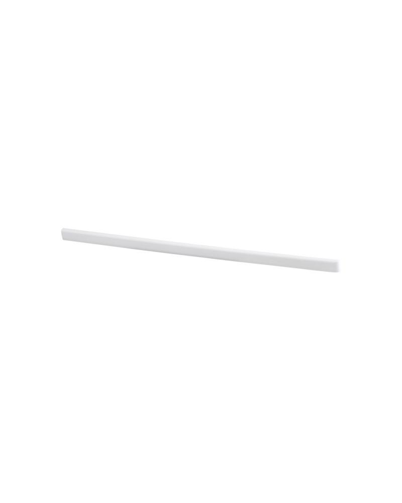 Tragarmabdeckung rechts L420 mm weiß