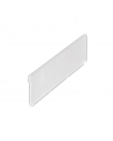 Kunststoffauflage L607 mm B393 mm transparent