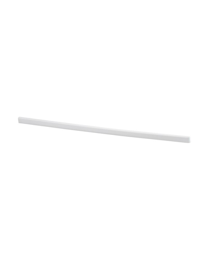 Tragarmabdeckung links L500 mm weiß