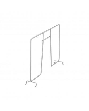 Kleiderstange L635 mm silber