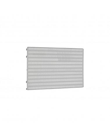 Lochwand 60er L598 mm B15 mm H382 mm platinum