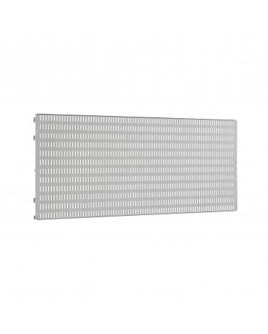 2er Pckg. Buchstütze für Hängeschiene L200 mm platinum