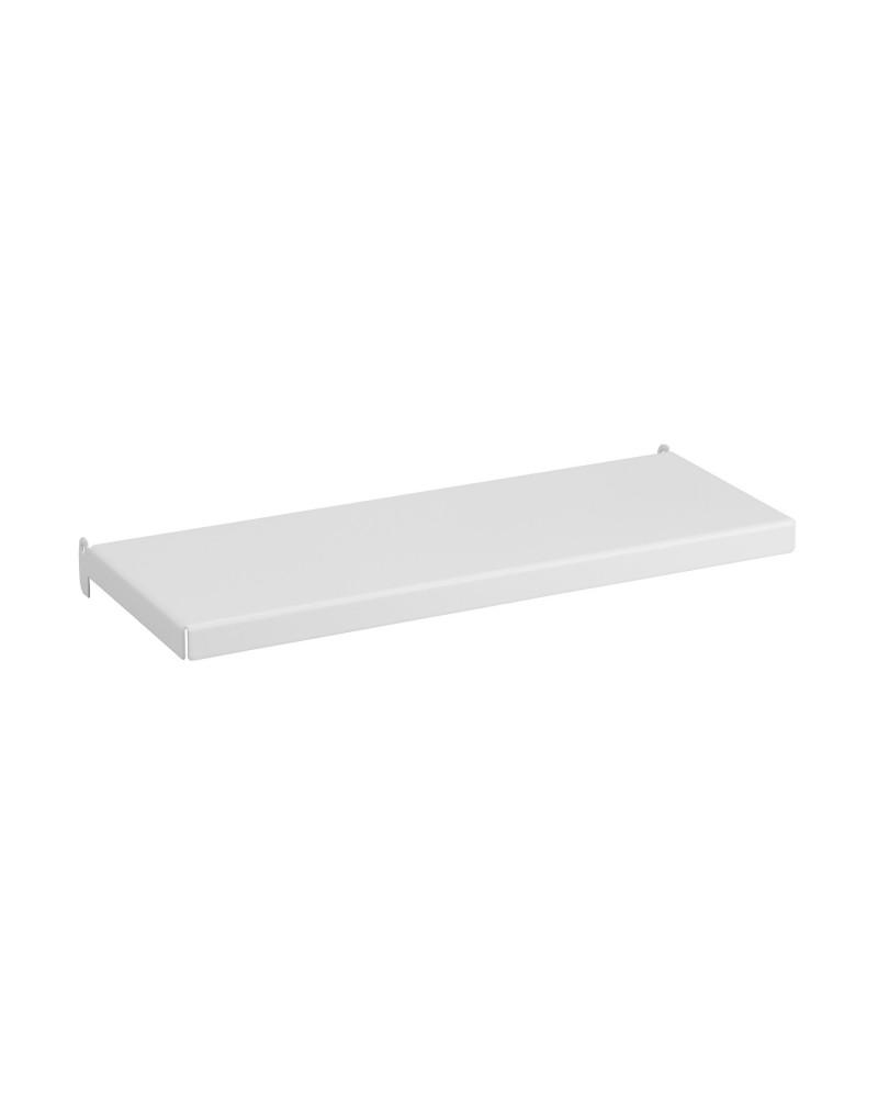 Regalboden inkl. Tragarm, drehbar 180° L274 mm B113 mm H25 mm weiß