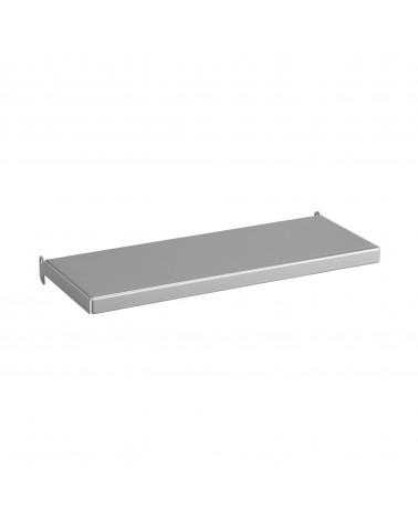 Regalboden inkl. Tragarm, drehbar 180° L274 mm B113 mm H25 mm platinum