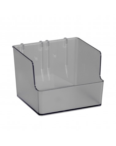 Box groß f. Lochwand L112 mm B80 mm H110 mm transparent