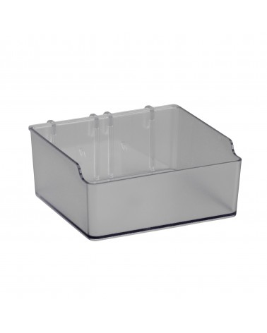 Box klein f. Lochwand L112 mm B48 mm H110 mm transparent