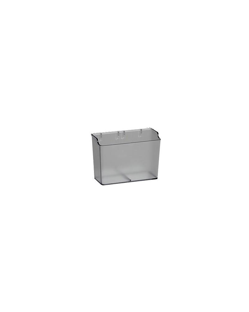 2er-Pckg, Tragleiste Lochwand L20 mm B17 mm H382 mm Weiß