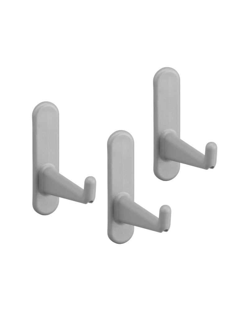 Lochleiste 60er L598 mm B16 mm H62 mm weiß