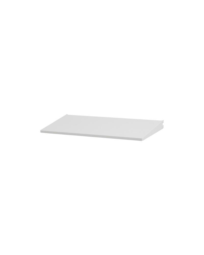 Regalboden 60er inkl. Tragarm, drehbar 180° L598 mm B267 mm H48 mm weiß