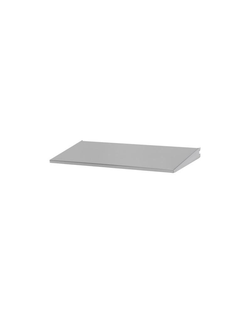 Regalboden 60er inkl. Tragarm, drehbar 180° L598 mm B267 mm H48 mm platinum