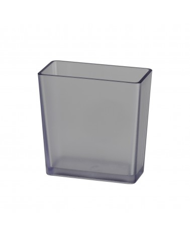 Box groß  L98 mm B49 mm H100 mm transparent