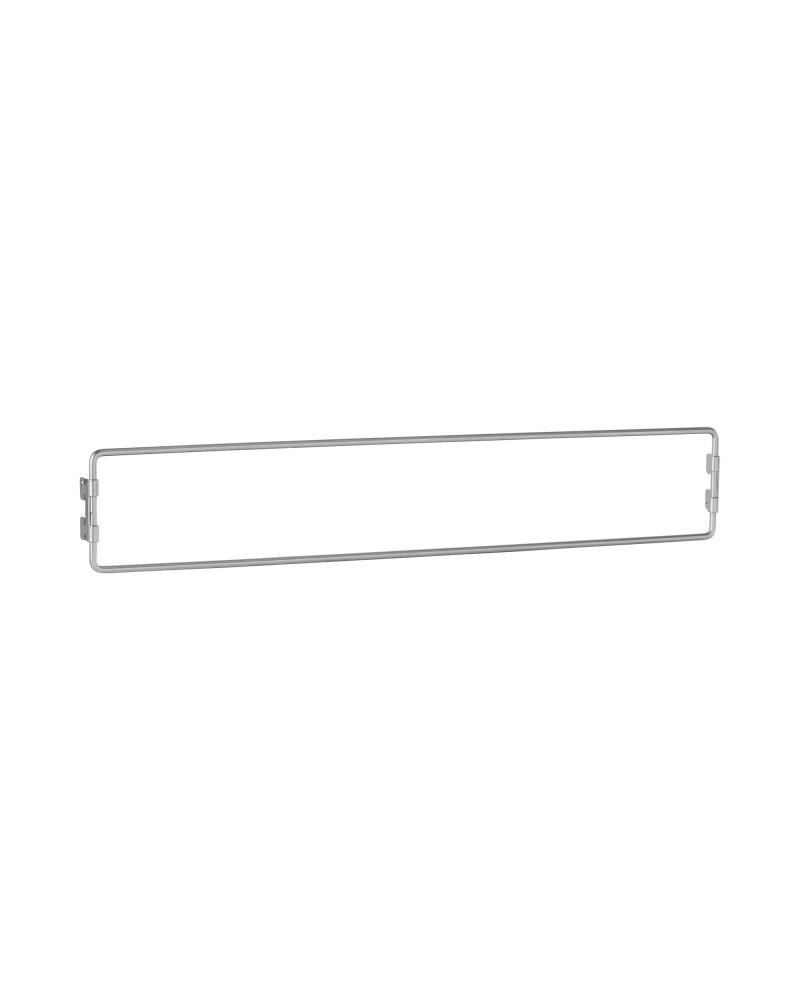 Regalboden 60er inkl. Tragarm, drehbar 180° L598 mm B115 mm H48 mm platinum