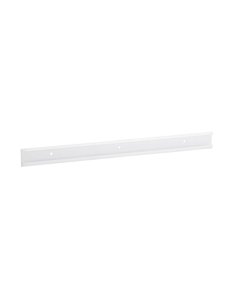 Regalboden 90er inkl. Tragarm, drehbar 180° L893 mm B267 mm H48 mm weiß