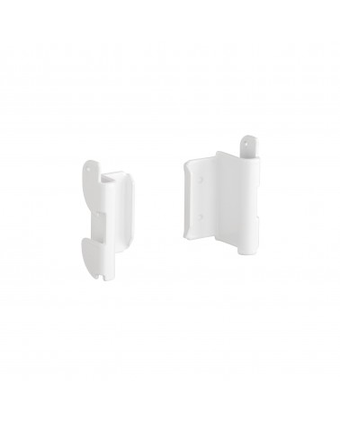 Regalboden 90er inkl. Tragarm, drehbar 180° L893 mm B267 mm H48 mm platinum