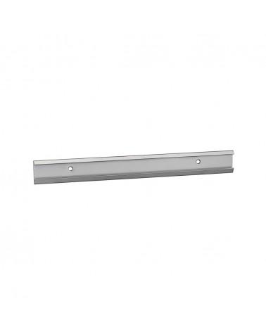 Aufhänggitter, schmal L598 mm H101 mm weiß