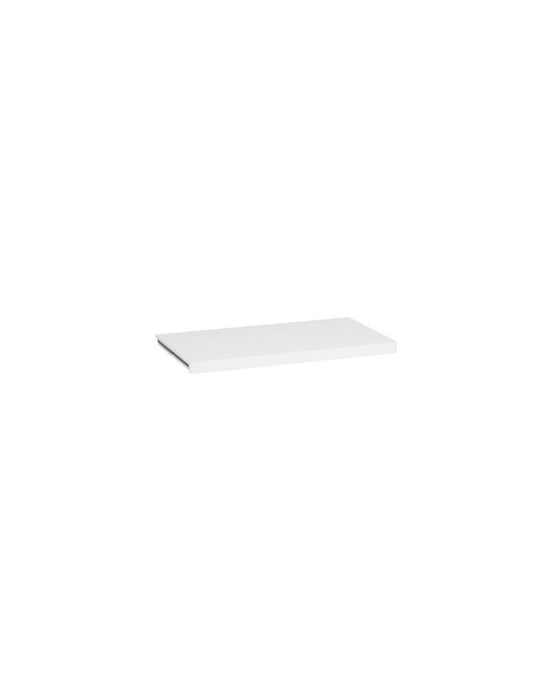 Holzboden 30er L605 mm B335 mm weiß