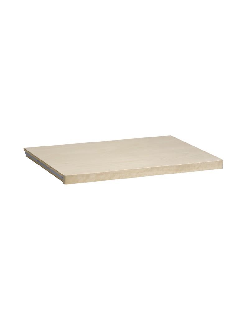 Holzboden 30er L900 mm B335 mm weiß