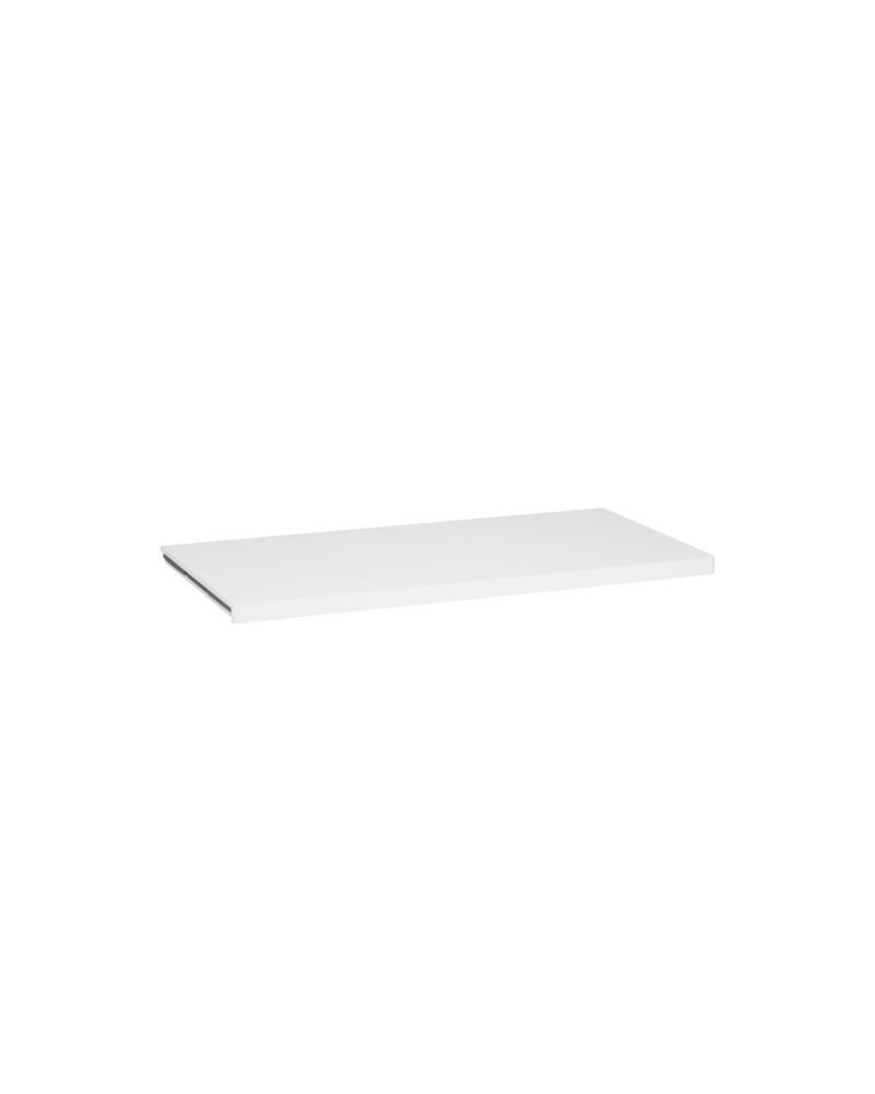 Holzboden 40er L605 mm B435 mm weiß