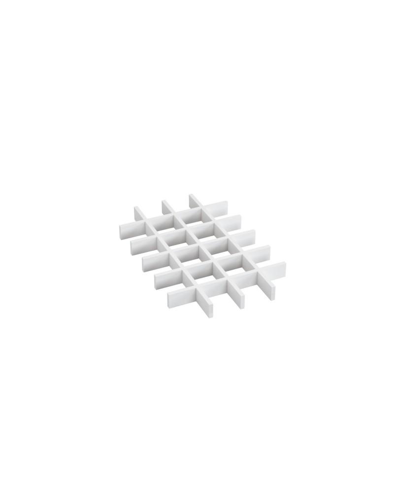 Abteiler 8 Felder L530 mm B405 mm H44 mm weiß