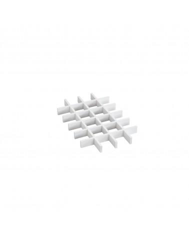 Abteiler 24 Felder L363 mm B235 mm H30 mm weiß