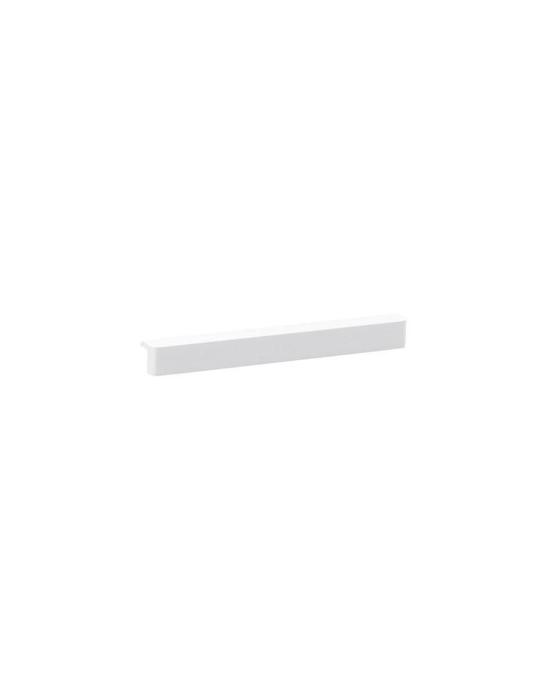 Frontleiste für Gitterböden L451 mm B902 mm weiß