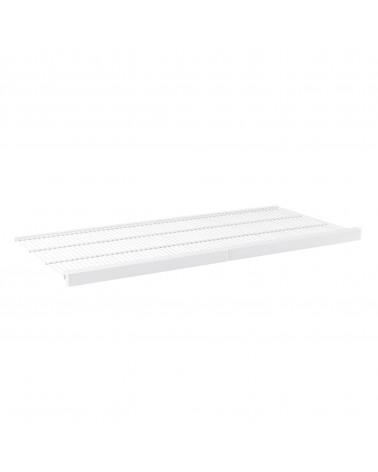 Décor Frontleiste für Gitterböden L451 mm B902 mm weiß