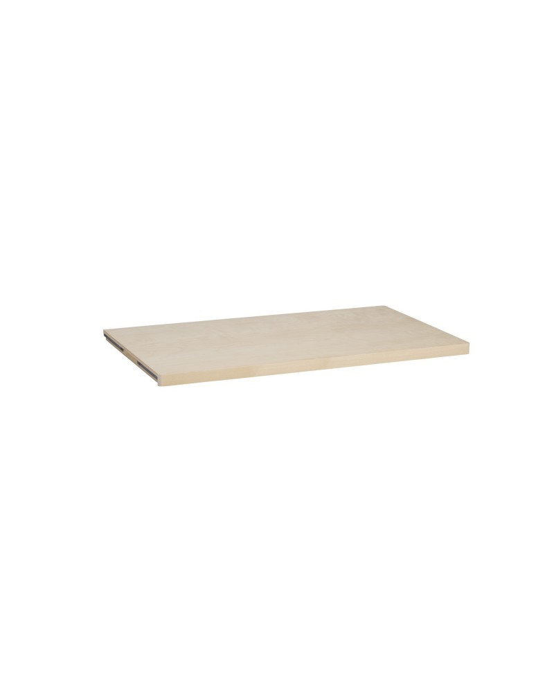 Holzboden 50er L605 mm B508 mm weiß