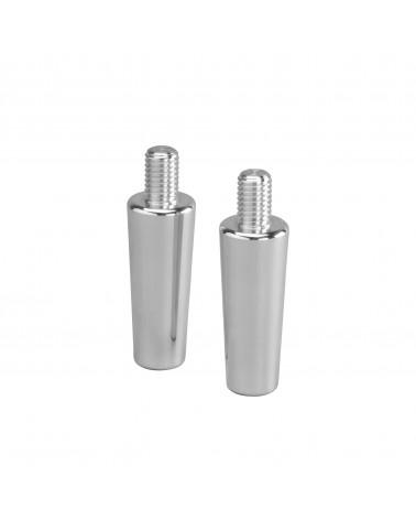 2er Pckg. Fußverlängerung L50 mm Aluminium
