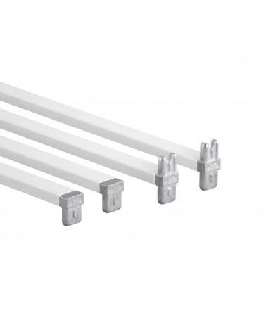 Korbregalseitenteil 10 Fächer L1040 mm B535 mm weiß 1 Paar