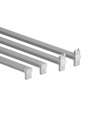 Korbregalquerstange 55  L550 mm platinum