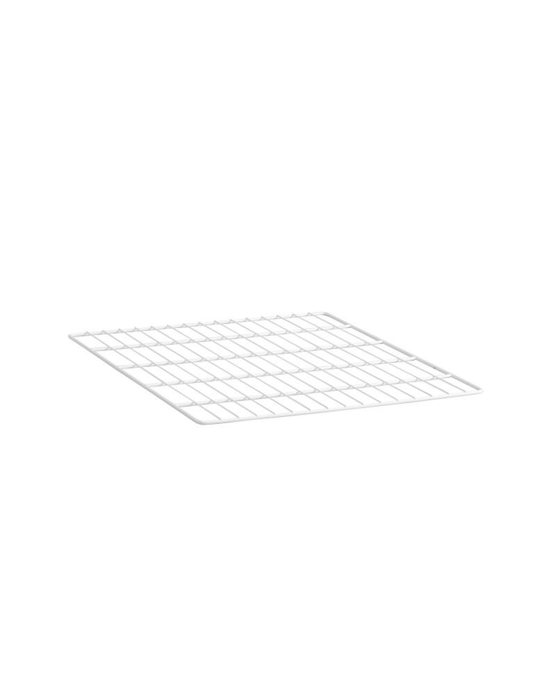 Korbregalquerstange 55  L550 mm weiß