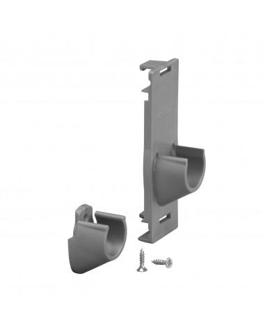 Abdeckplatte f. Korbregal L450 mm mm H16 mm weiß