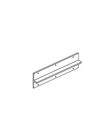 Abdeckplatte f. Korbregal L550 mm mm H16 mm weiß