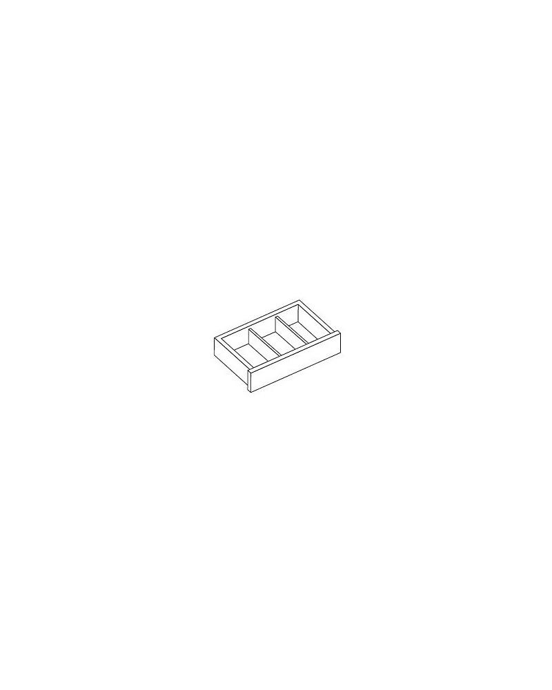2er Pckg. Kleiderstangenhalter Wand z. Wand platinum