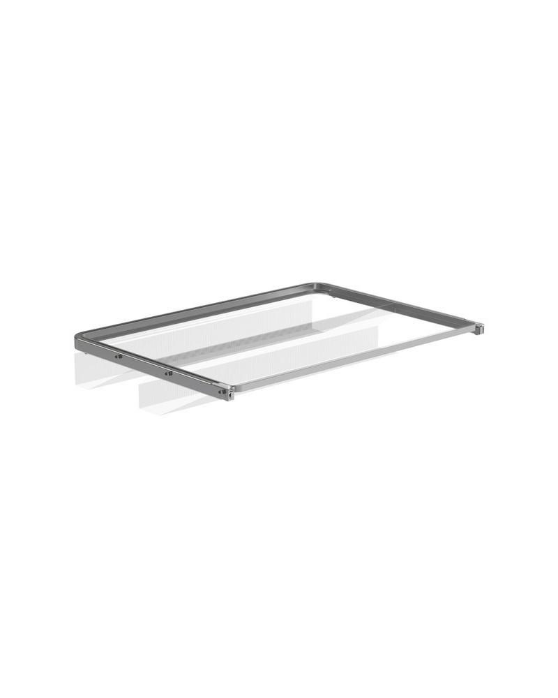 Schuhauszug Gitter 60x40cm platinum