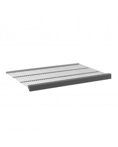 Décor Frontleiste für Gitterboden 60 Grau