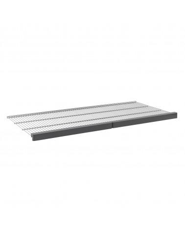 Décor Frontleiste für Gitterboden 45 Grau