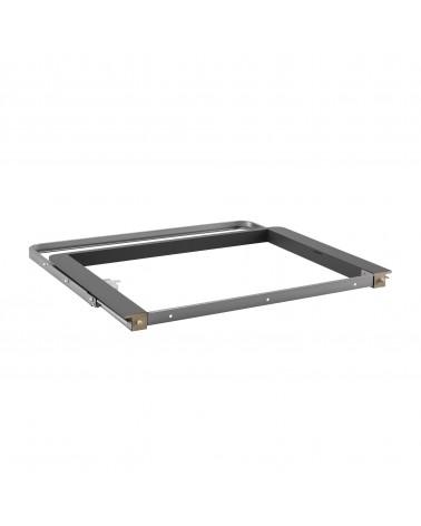 Décor Auszugsrahmen Box Platinum/Grau