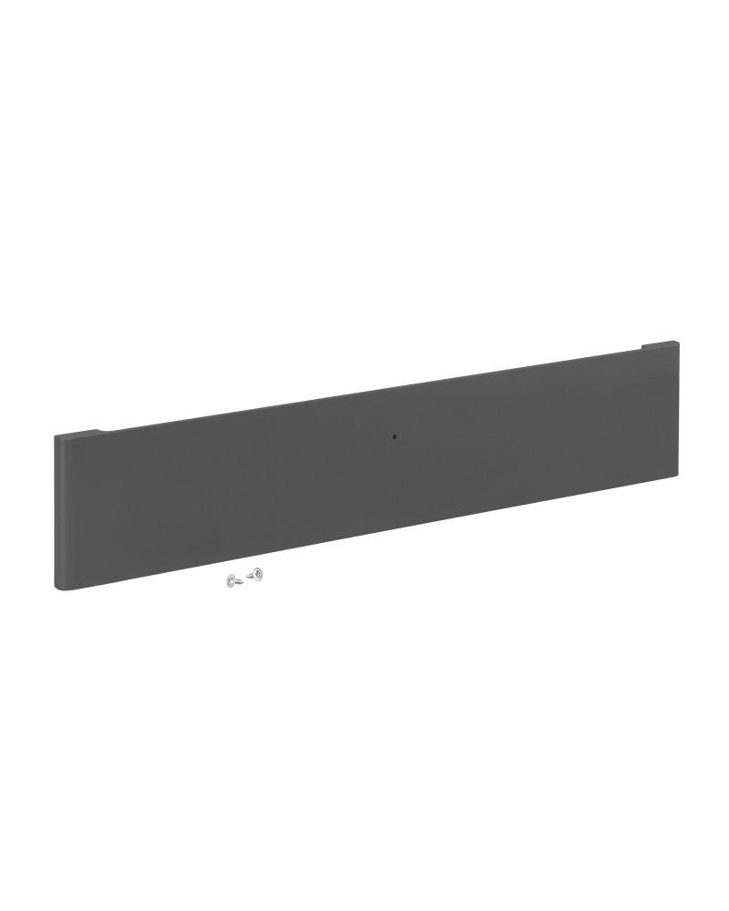 Décor Box Front Niedrig Grau