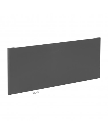 Regalboden 45er inkl. Tragarm, drehbar 180° L442 mm B267 mm H48 mm platinum