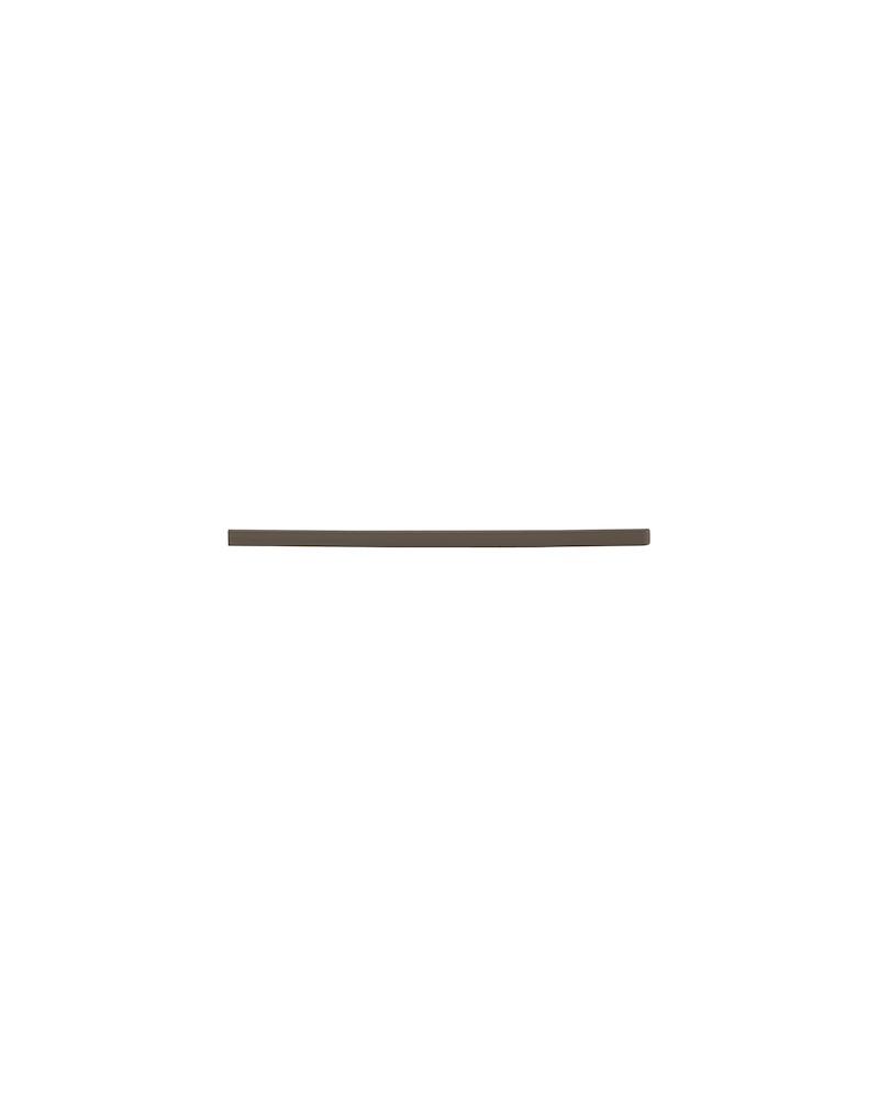Tragarmabdeckung Click-in 40, recht Graphite<br>8 x 420 x 16