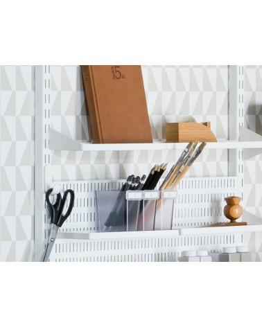 Box rechteckig für Ablage/ Regalboden