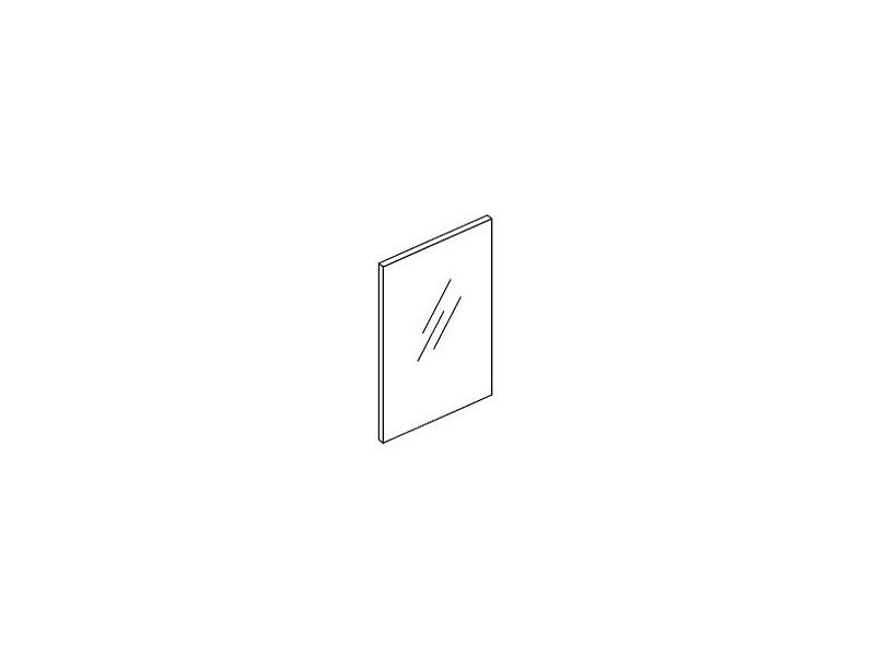Glastür ohne Rahmen