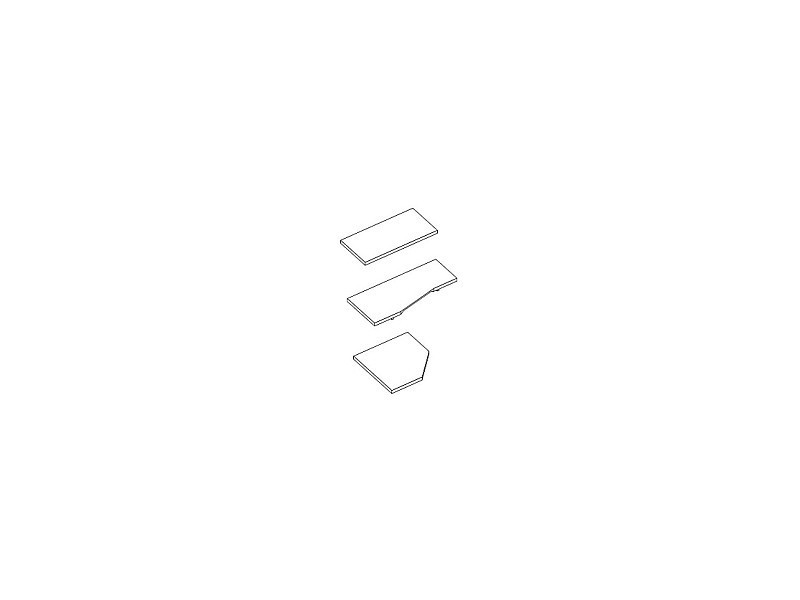 Tischplatten, Kiefer massiv
