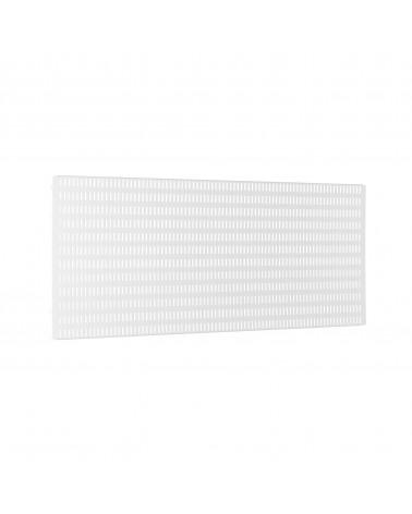 2er Pckg. Buchstütze für Hängeschiene L200 mm weiß