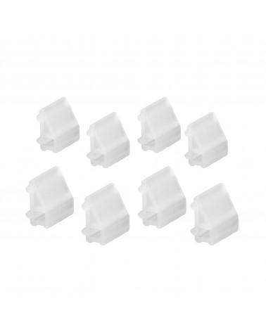Kunstoffkorb 45 transparent L448 mm B436 mm H188 mm weiß